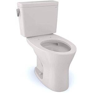 Toto Drake - Best Budget Option Toilet (table)