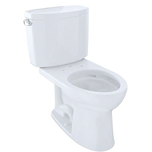 Toto Drake II - Best Two-Piece Toilet (table)