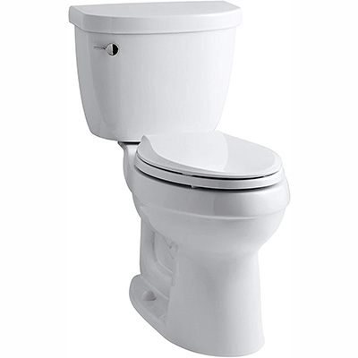 Kohler Cimarron – Our Top Pick when it comes to flushing Power (table)