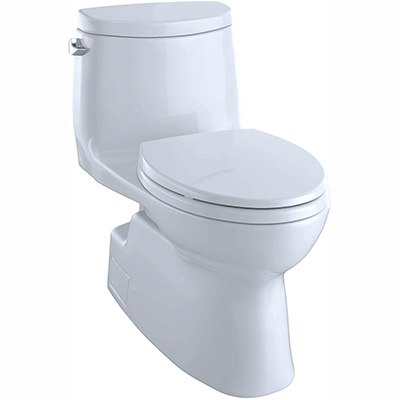 Toto Carlyle II - Universal Height Skirted Toilet (table)