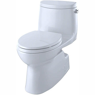 Toto Carlyle II - Universal Height Skirted Toilet