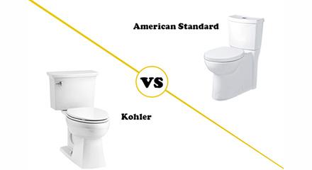 Kohler vs American Standard - banner