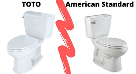 Review about Toto vs American Standard - banner