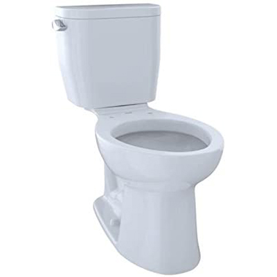 TOTO Entrada Two-piece Elongated Toile – Best Balanced Flushing System (table)