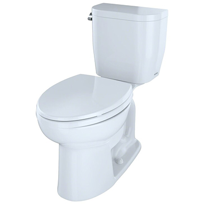 TOTO Entrada Two-piece Elongated Toilet – Best Balanced Flushing System